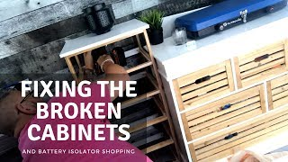 Fixing The Van Build And Buying Battery Isolator Supplies