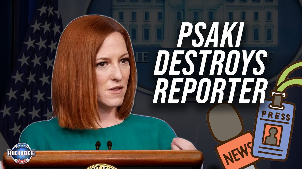 Download Psaki DESTROYS Reporter with SHOCKING Logic; WARNING: Watch for Sarcasm | LIVE with Mike | Huckabee
