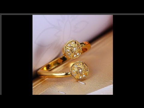 Top Beautiful Daily Wear Gold Rings Designs For Women Today Fashion