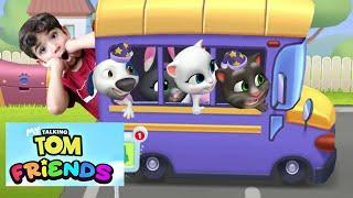 Jogamos o NOVO JOGO MEU TALKING TOM AMIGOS - Jogo Meu Gato Tom - Família Rocha Games