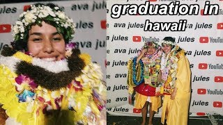high school graduation in hawaii... vlog + grwm!