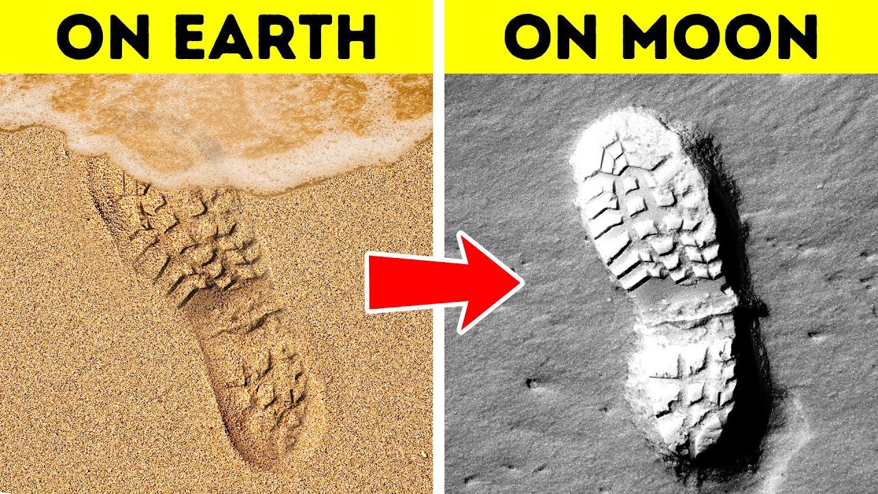 Why Footprints Stay On The Moon and 60+ Other Amazing Facts