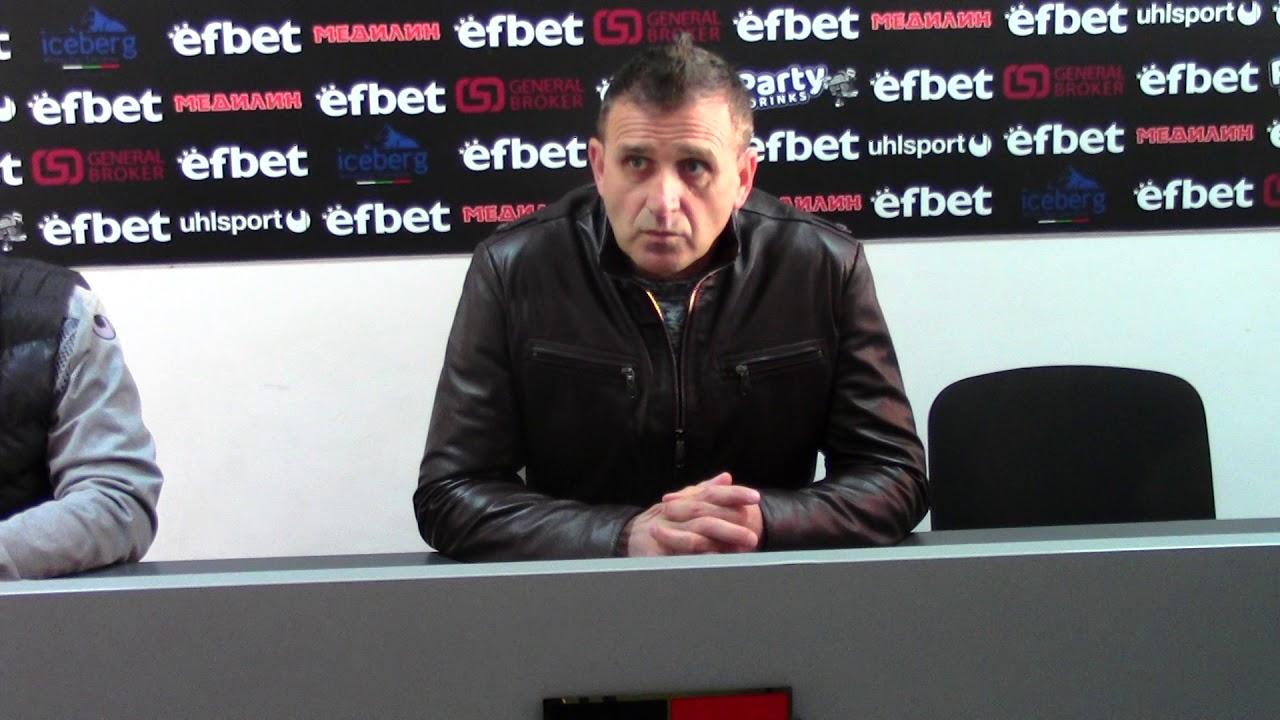LokomotivTV: Бруно Акрапович след мача със Септември