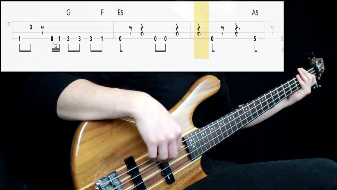 Download Alien Ant Farm - Smooth Criminal (Bass Cover) (Play Along Tabs In Video)