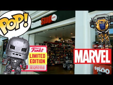 SDCC Exclusive Iron Man Funko Pop Hunting!! | Mark 1