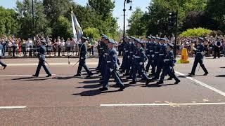 런던 버킹엄궁전 근위병 교대식