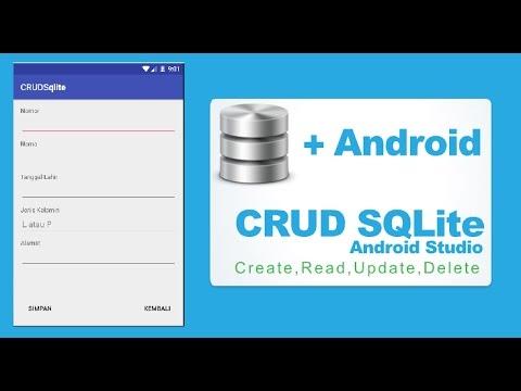 Android Studio - CRUD Input, Read, Update, Delete Dengan SQLITE