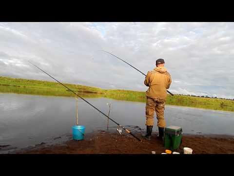 рыбалка летом 2017 на фидер на реке Сысола