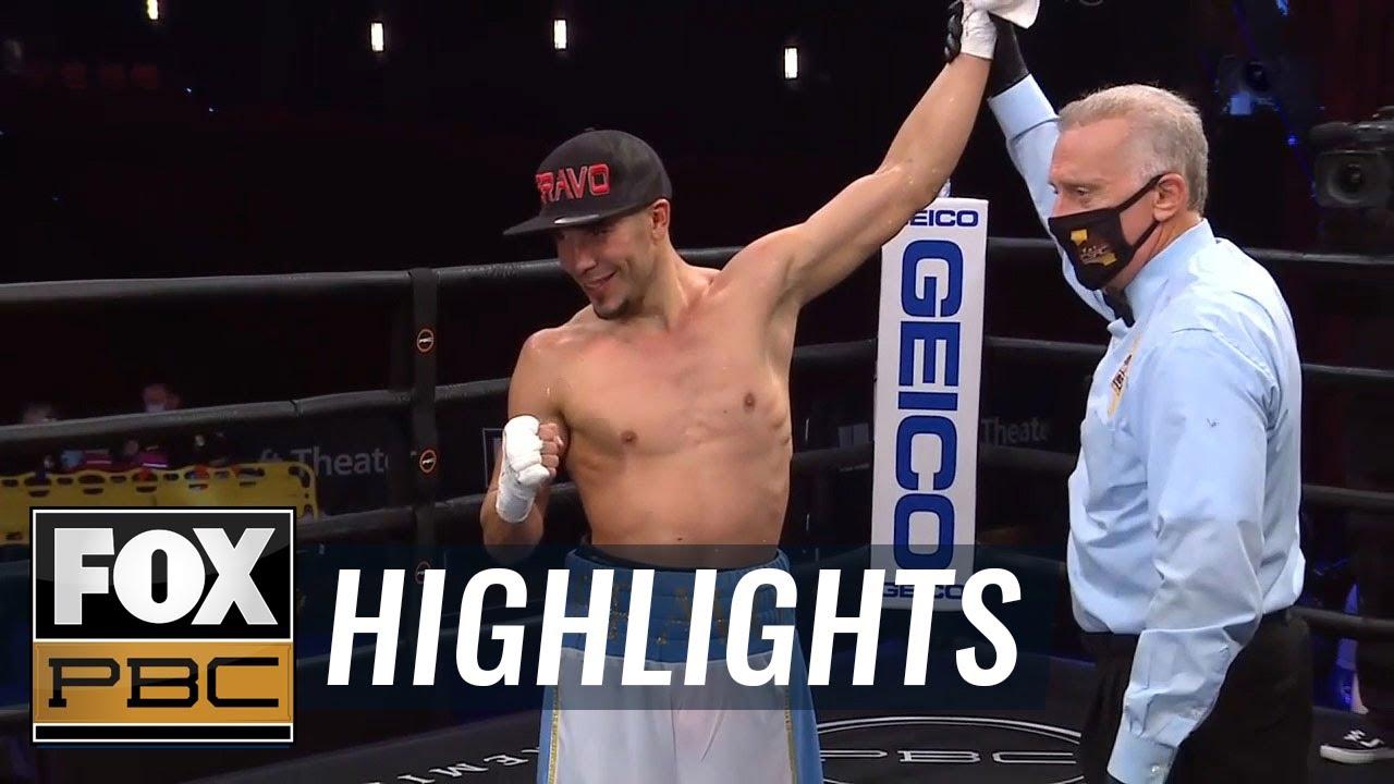 Undefeated lightweight prospect Nestor Bravo defeats Jose Luis Gallegos | HIGHLIGHTS | PBC ON FOX