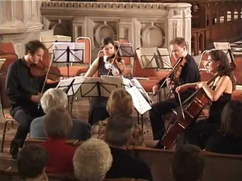 Bartok String Quartet No. 4 - Prestissimo con sordino - Carducci String Quartet