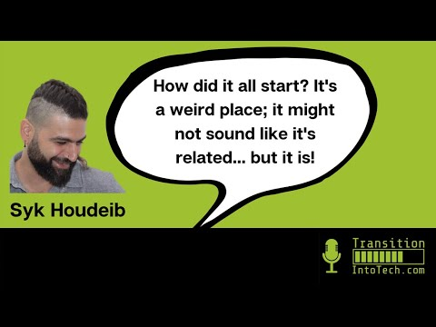 Syk Houdeib: 'Front-end developer... I still have to pinch myself!' 4