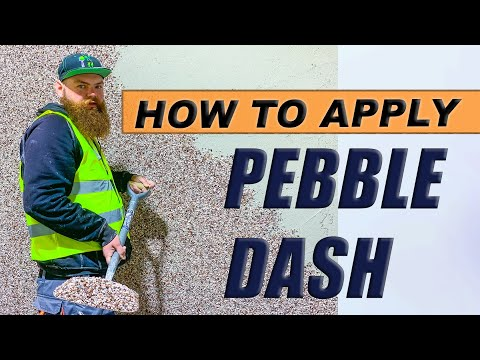 How To Pebble Dash A Wall Beconstructive Ltd