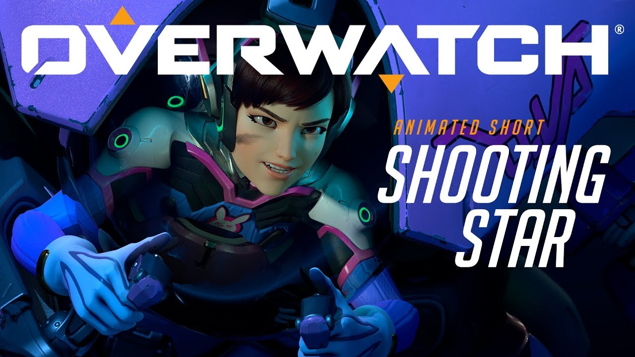 overwatch animated short shooting star youtube