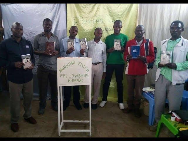 Did Jesus Correct Moses Book Arrives in the Kibera Slum Nairobi Kenya