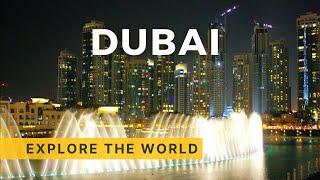 The Dubai Fountain, Dubai UAE