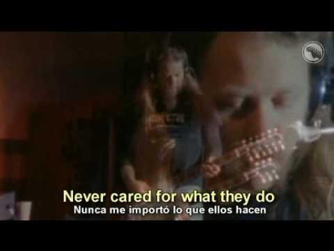 Metallica    Nothing Else Matters - subtitulada al español y al ingles