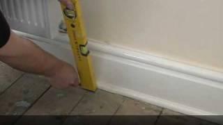 Installing a radiator