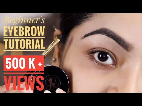 How To Do Your Eyebrows ❤️BEGINNER'S EYEBROW TUTORIAL | Favourite Eyebrow Products
