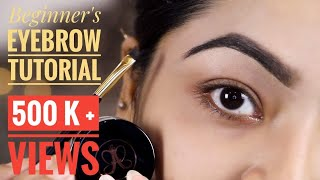 How to do your eyebrows ❤️BEGINNER'S EYEBROW TUTORIAL   Favourite Eyebrow Products