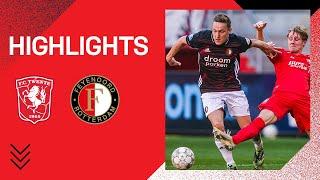 Highlights   FC Twente - Feyenoord   Eredivisie 2020-2021