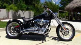 Used 2009 Harley Davidson Fxcwc Softail Rocker C Motorcycle For Sale