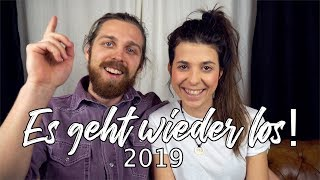 ES GEHT WIEDER LOS! - Unsere Weltreise Pläne für 2019 l Whats Next?!