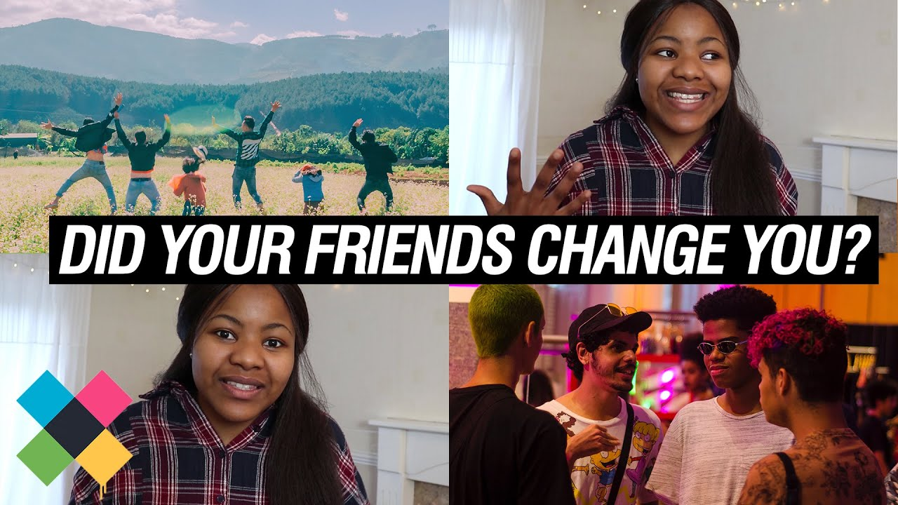 Can friends change you?