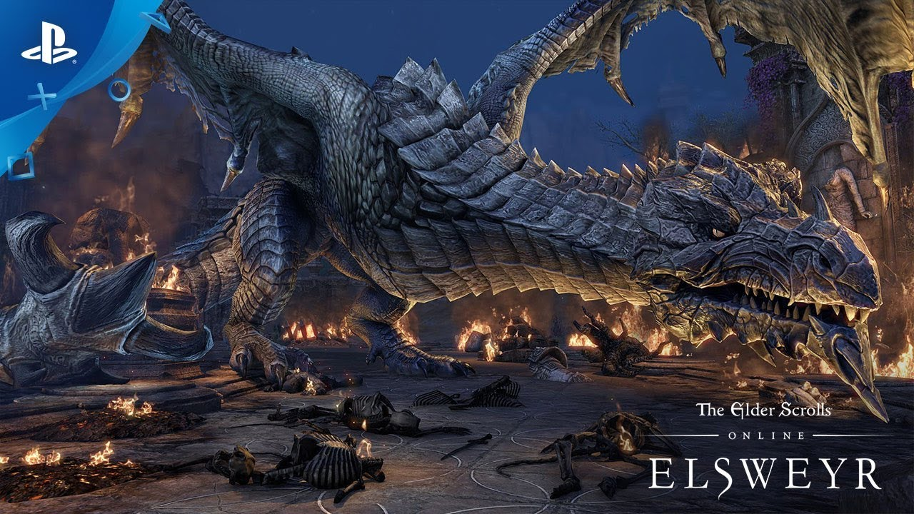 The Elder Scrolls Online: Elsweyr - Dragon Rage | PS4