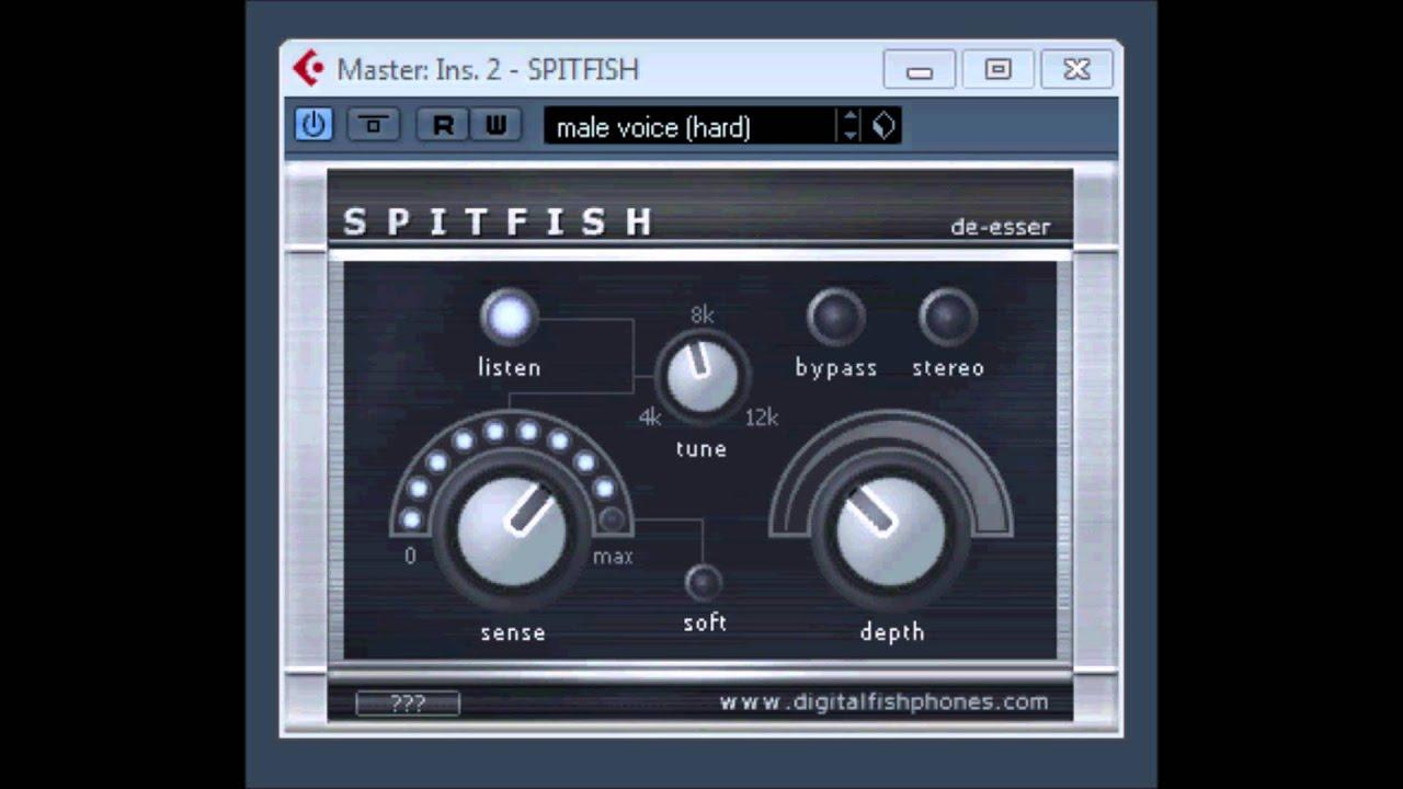 SpitFish De-esser by DigitalFishPhones