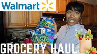 Healthy Walmart Grocery Haul Under $50 | Eating Healthy On A Budget 2020!