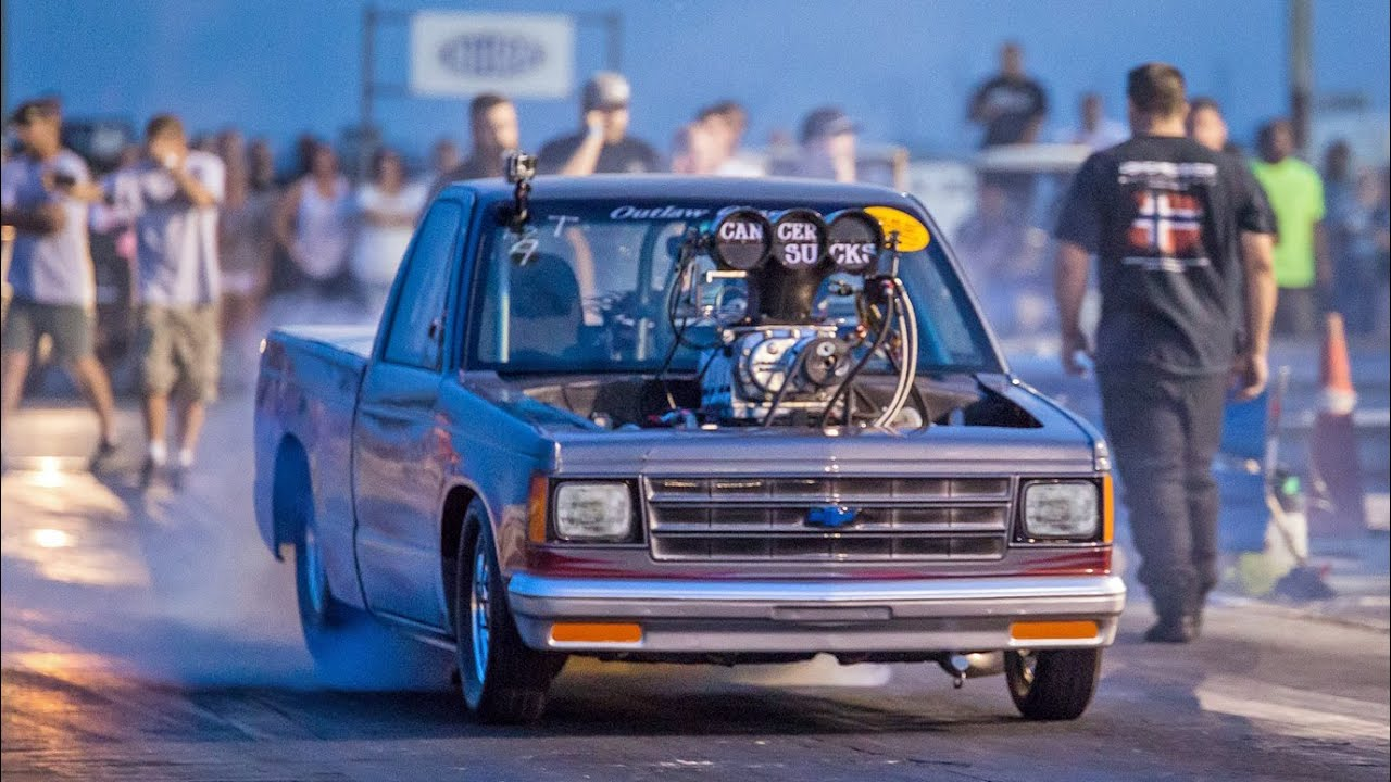 77 Chevy Truck >> BADASS Blown S10! - YouTube
