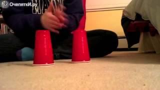Мелодия на пластиковых стаканчиках