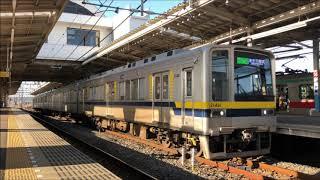 【20000+20070】東武20400型21F 南栗橋駅発車(回送)