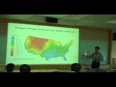 Chun-Ta Lai-Use of stable oxygen isotopes in studies of forest-atmosphere H2O exchange