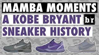 Kobe Bryant's Sneaker History - Mamba Moments
