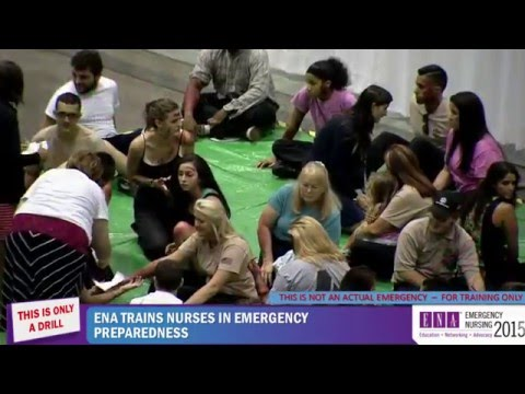 Mass casualty incident drill | Emergency Nursing 2015