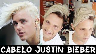 como fazer o cabelo do justin bieber justin bieber hair 2016 cabelo masculino