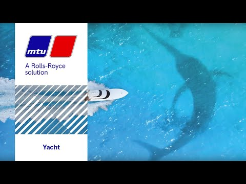 MTU 12V 2000 M96 for Sportfishing Yachts - YouTube
