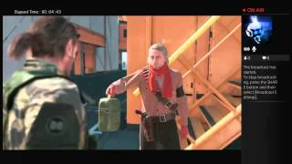Metal gear solid V The phantom pain:part 1