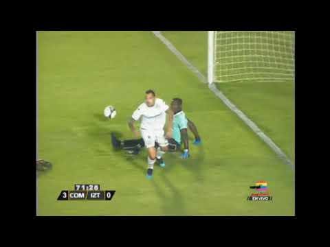 Gol de Comunicaciones FC ante Club Deportivo Iztapa