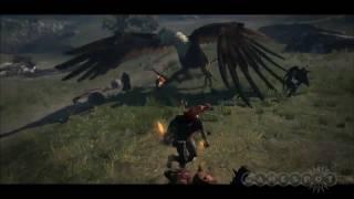 Dragon's Dogma Exclusive Griffon Gameplay Trailer (PS3, Xbox 360)