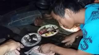 ลาบเหนียวปลาตองกรายสูตรบ่าวภูมิ ต้มส้มปลา กินข้าวแลงกับทีมงานบ่าวไทบ้าน