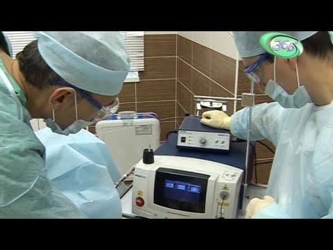 Лечение варикоза лазером. ЭВЛК.