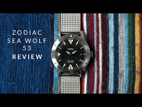 Zodiac Sea Wolf 53 Skin Review | The Best Vintage Inspired Diver?