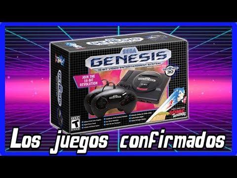 SEGA Mega Drive Mini - LOS JUEGOS CONFIRMADOS, PRECIO Y MAS DETALLES - Genesis Mini thumbnail