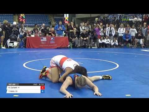Cadet WM 152 Semis - Kelani Corbett (HI) vs. Tristan Kelly (CO)