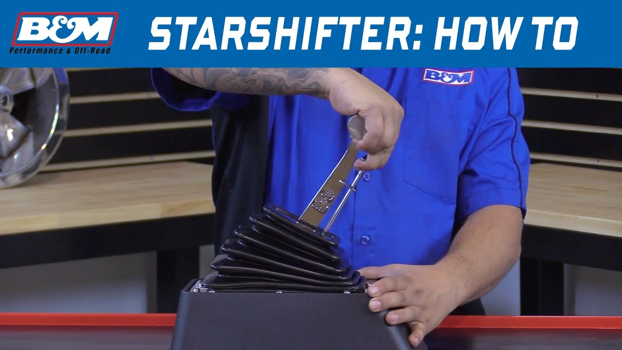 How To Shift A B U0026m Starshifter - Part   80675