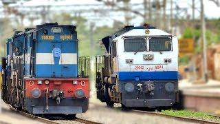 ALCo Vs EMD : Indian Railways Locomotives
