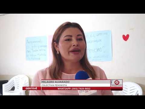 Mujeres salvadoreñas reclaman justicia a favor de Imelda Cortez