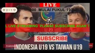 Indonesia u 19 vs china Taipe u 19